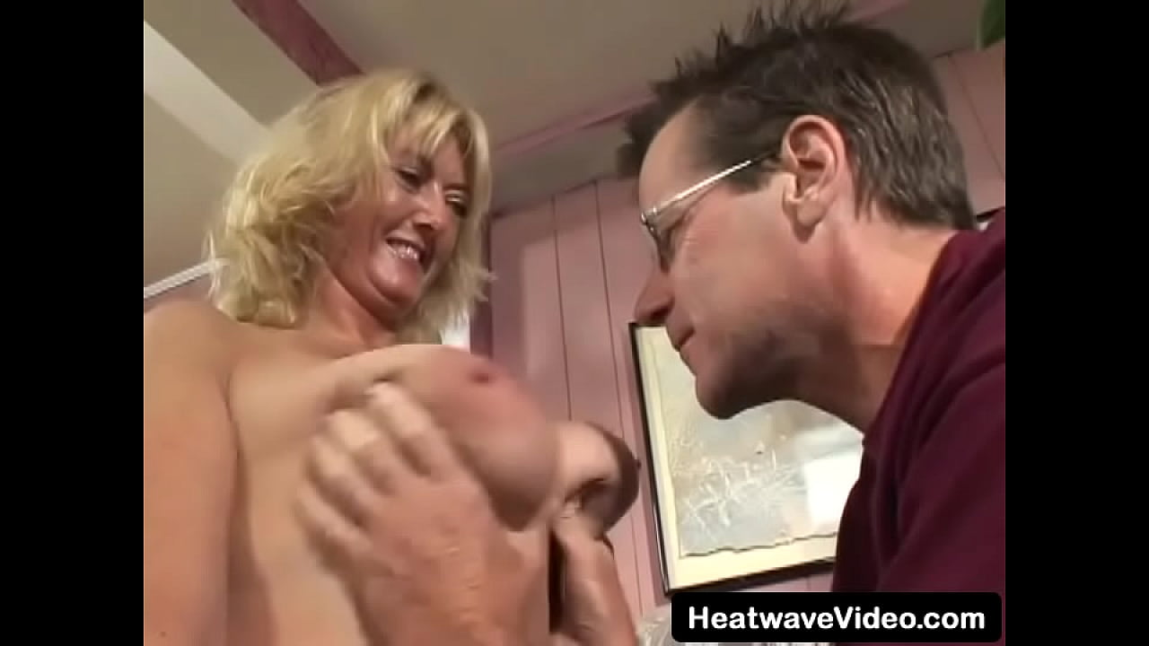 Busty MILF fucked by her man