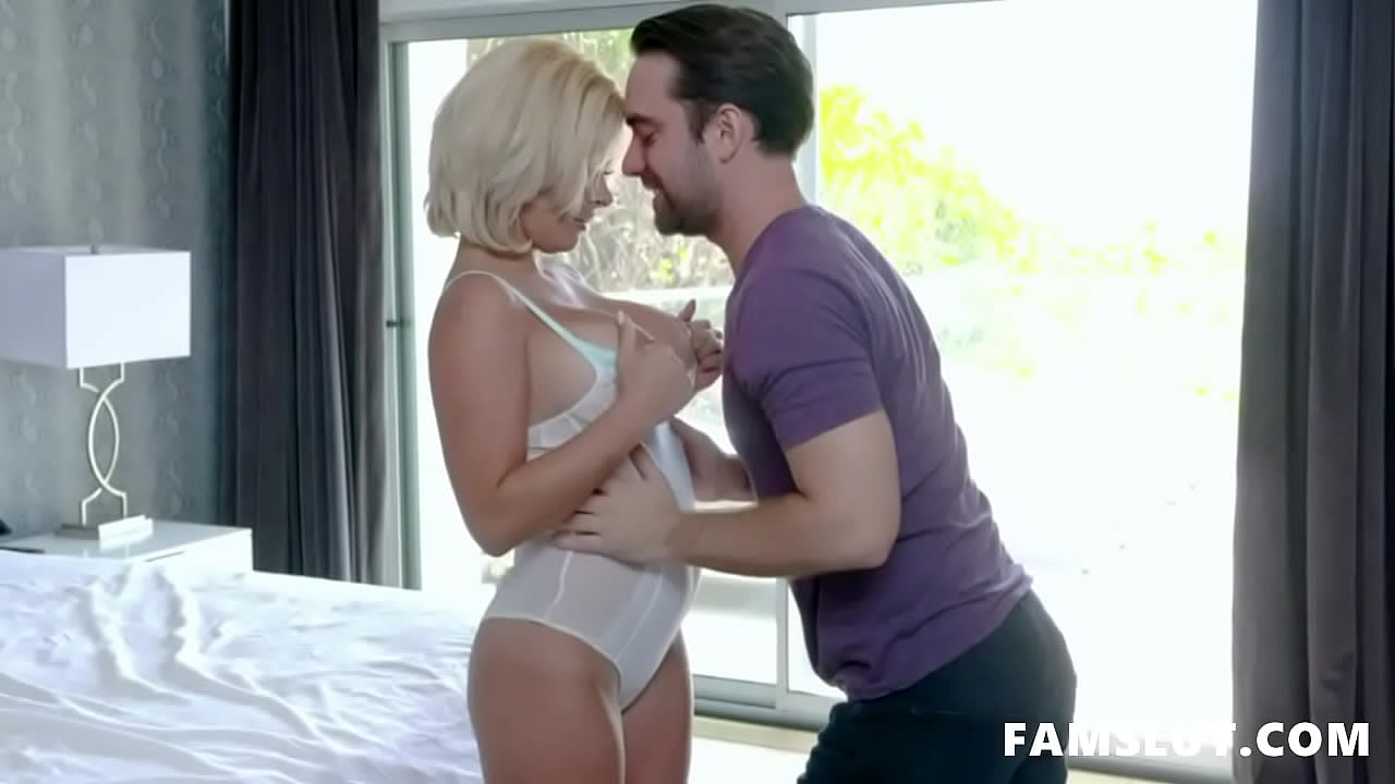 Gold Digger Stepmom Sara St Clair Blackmailed and Fucked By Her Stepson
