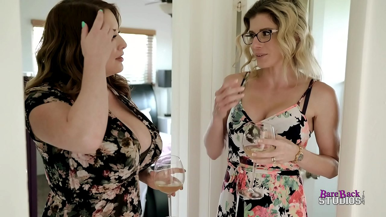 Step Mom With Huge Tits And Step Aunt Suck My Cock - Maggie Green And Cory Chase