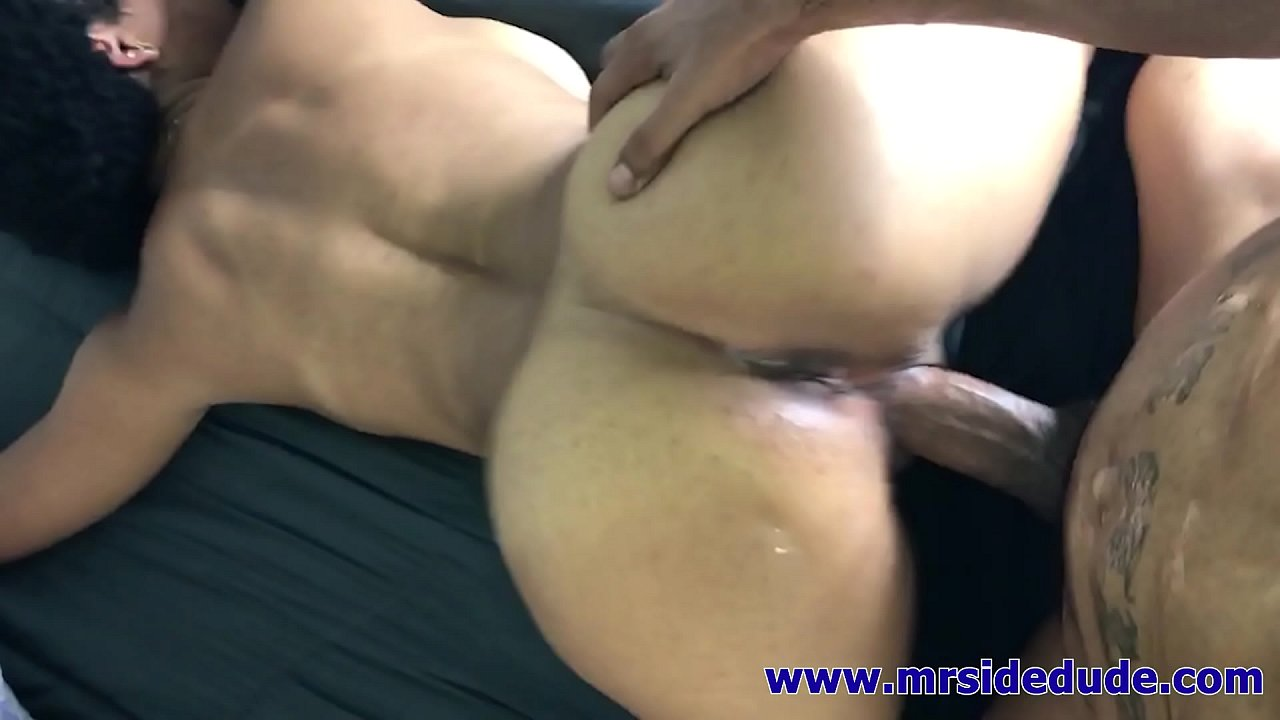Thick Ass Ebony Threesome