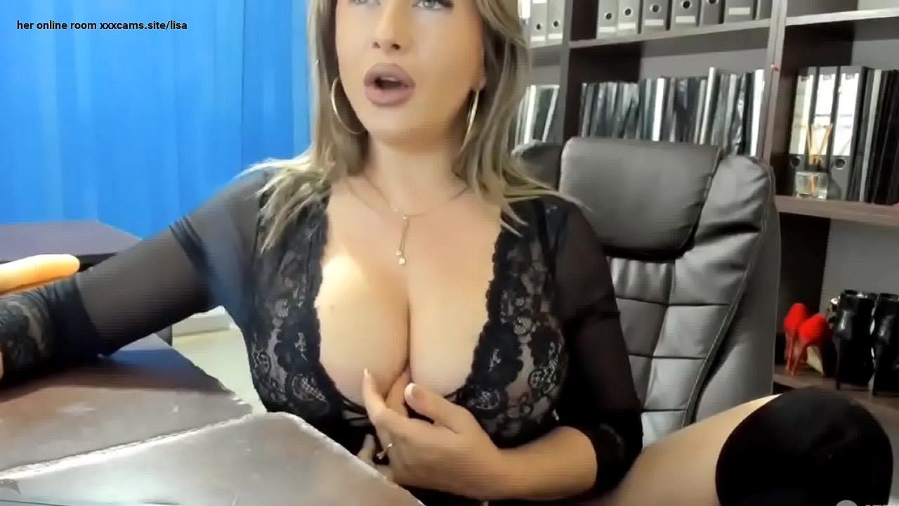 Blonde Milf Big Tits Handjob