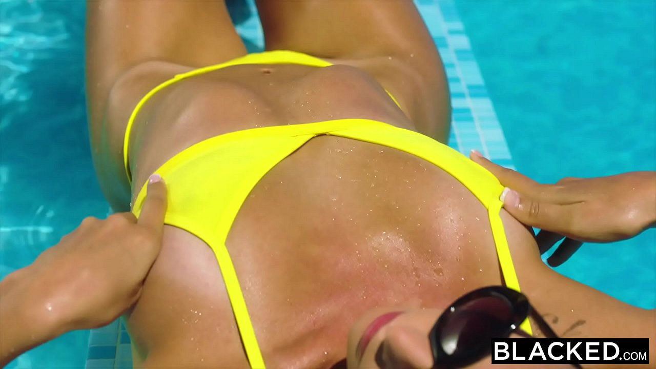 BLACKED Hot Wife was alone on vacation until she found two BBCs
