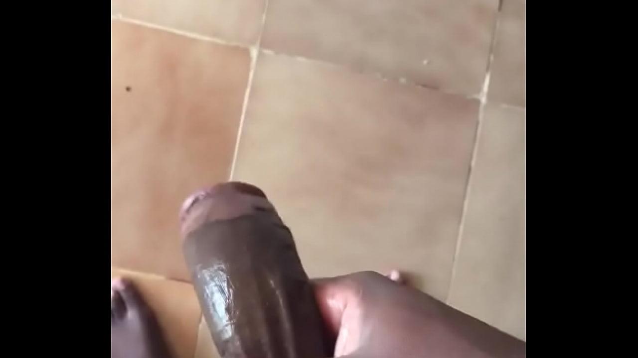 Amateur Big Dick Stroking