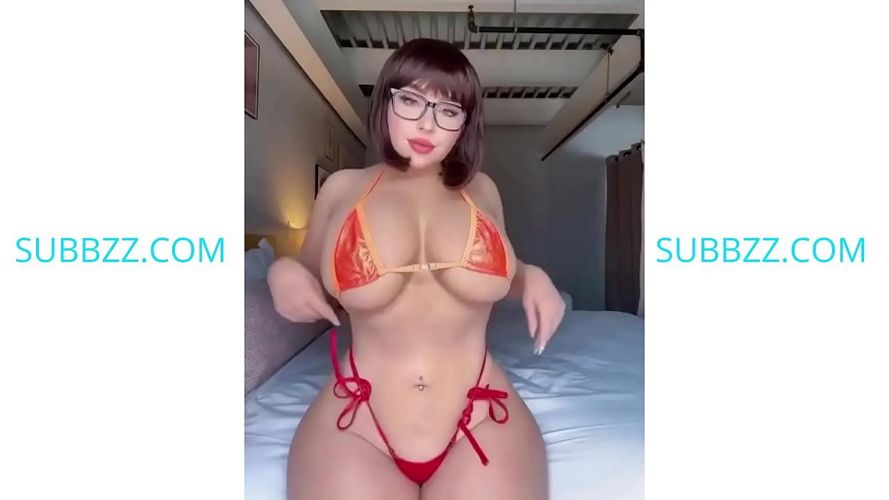 Hot Big Tit Blonde Asian