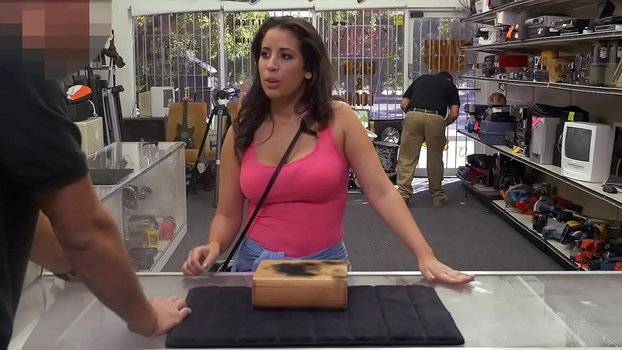 Big Tit Latina Sucking Dick