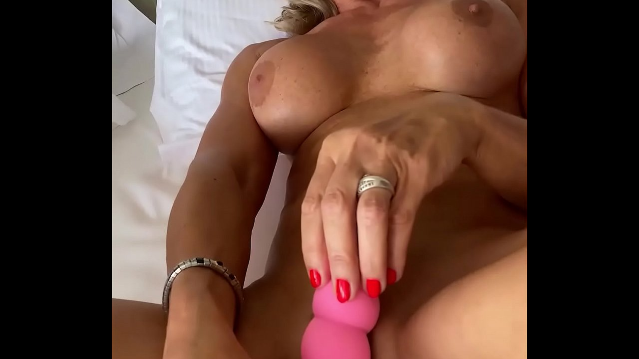 Marina Beaulieu, 59 Years Old, Playing With Dildo In South  France  - 15