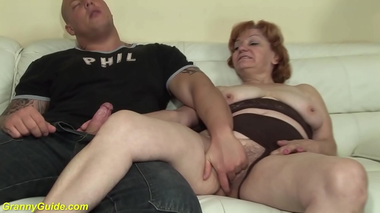 74 years old toothless mom b. fucked