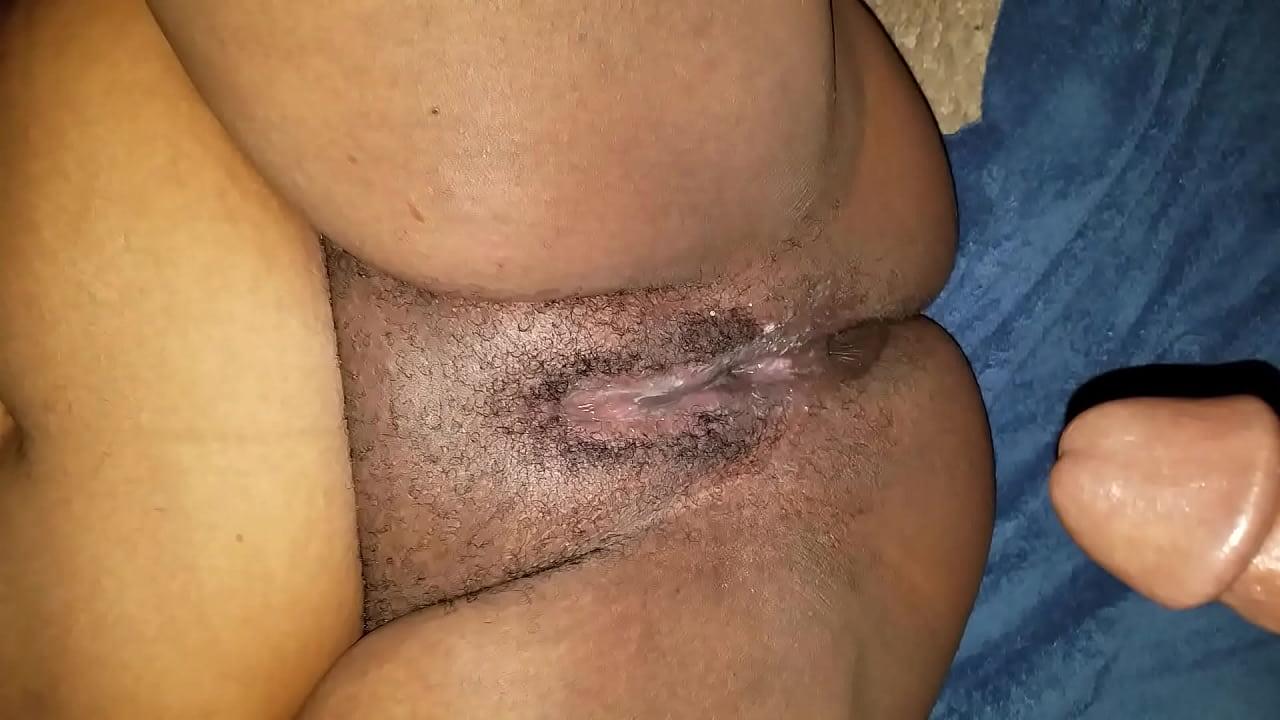 Creamy Black Pussy Threesome