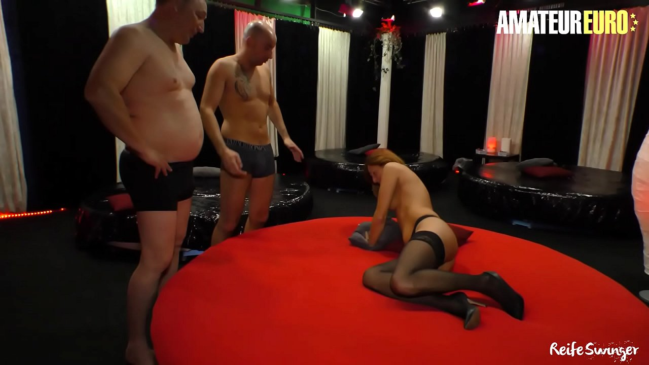 AMATEUR EURO - Classy Mature Lady Yvonne J. Takes It Hardcore In Hot Threeway Fun Sex