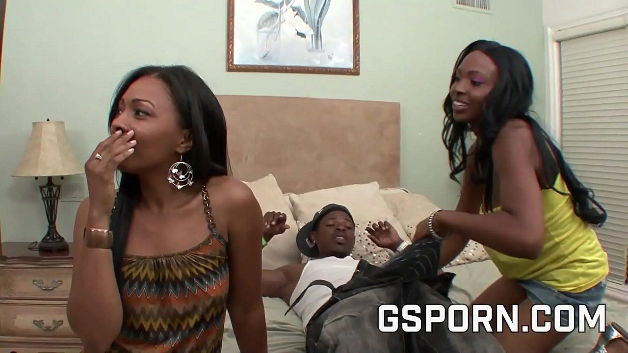 Big Ass Ebony Mom Threesome