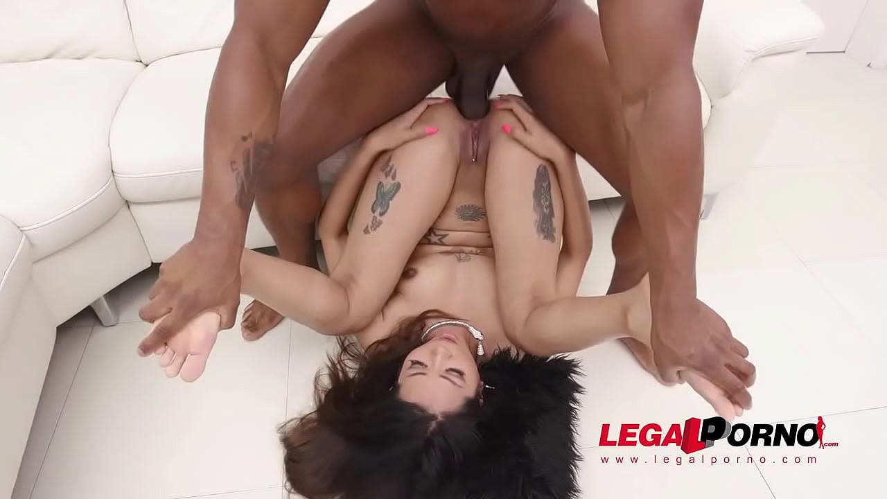 Interracial Big Tit Gangbang