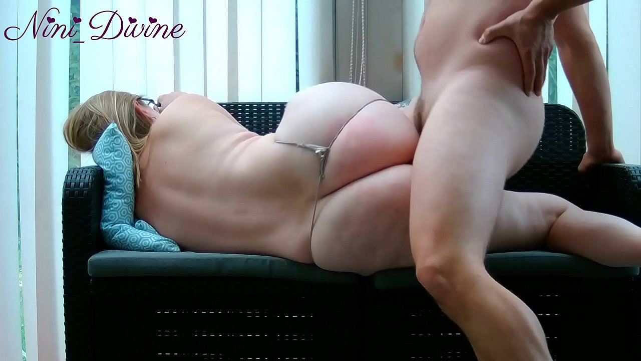 Big Ass Mom Lets Her Virgin Son Fuck Her!  - 20