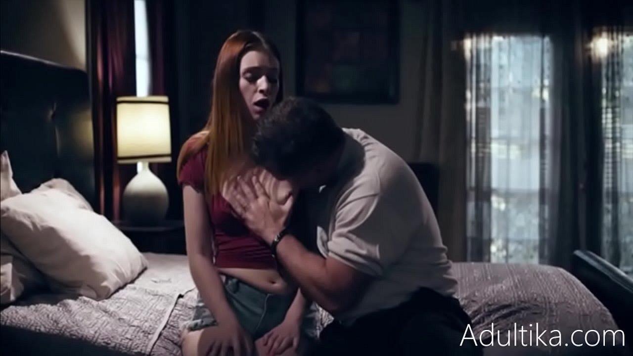 Blonde Teen Takes Big Cock