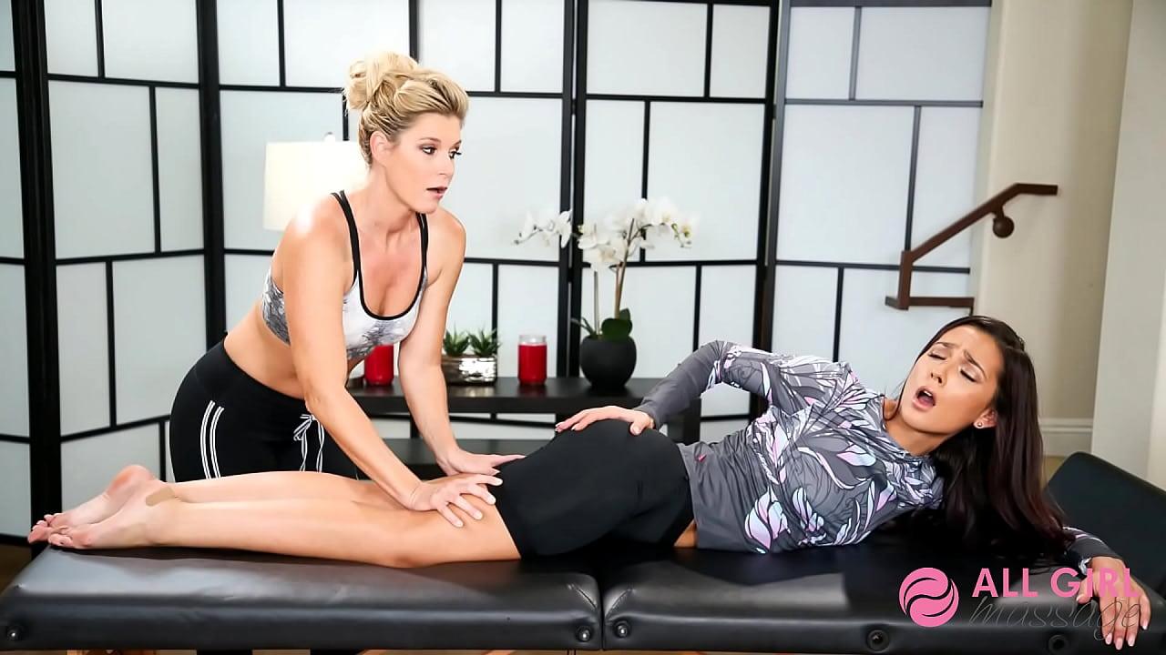 Lesbian Massage Asa Akira
