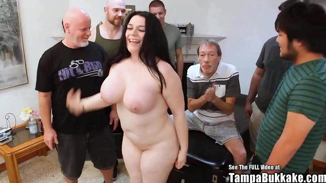Huge Tits Bukkake