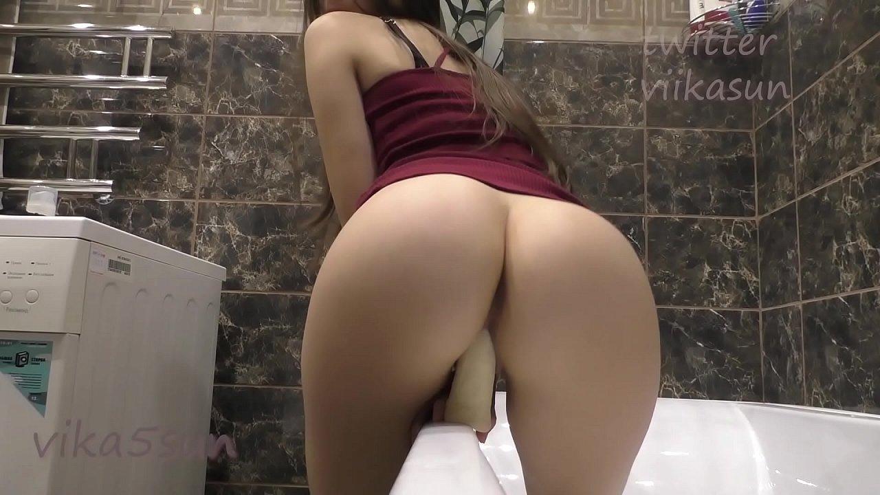 Girl Playing Herself Shower