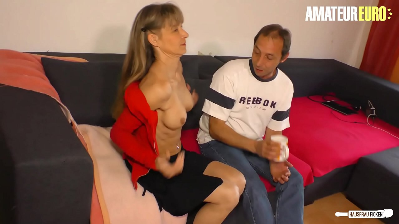 AMATEUR EURO - Mature Lady Gets Some Hardcore Love From Passionate Neighbor