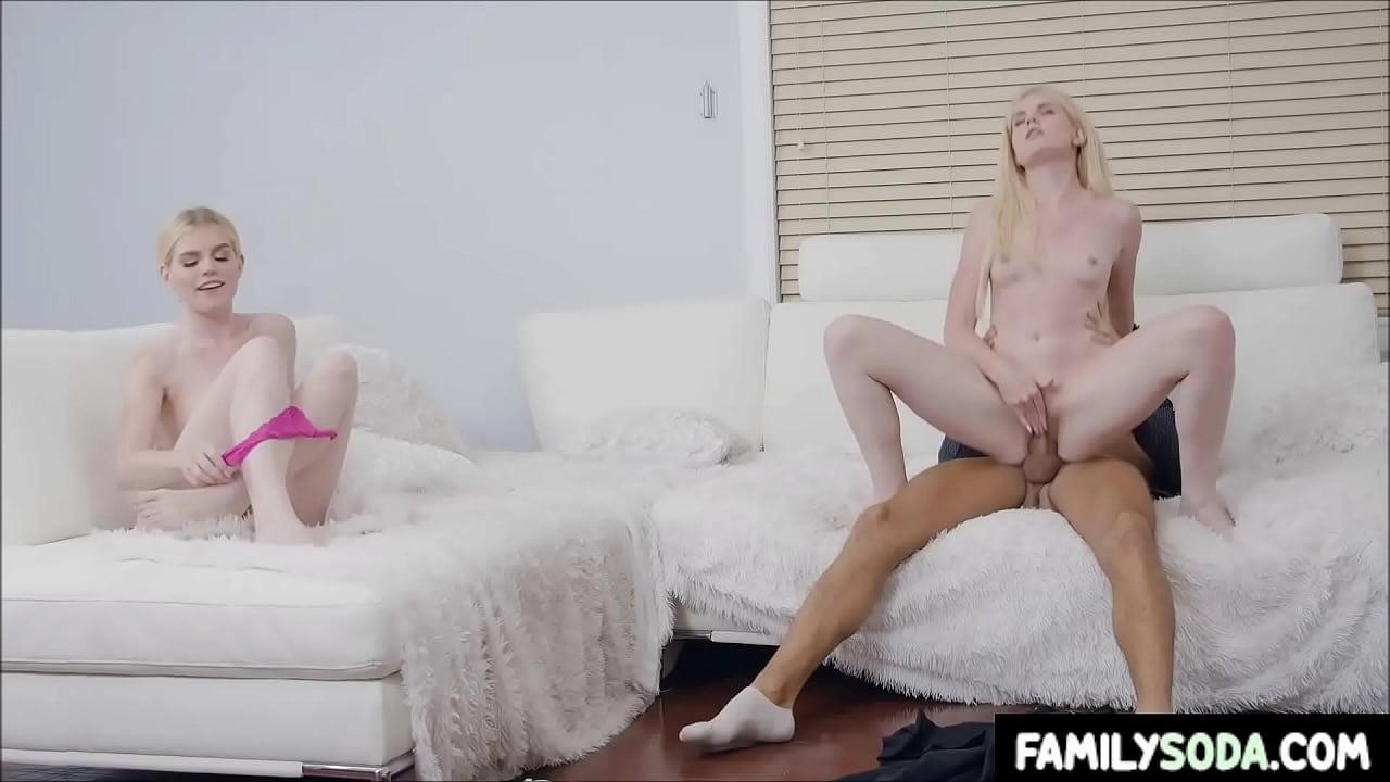 Fucking My Lesbian Step Sister