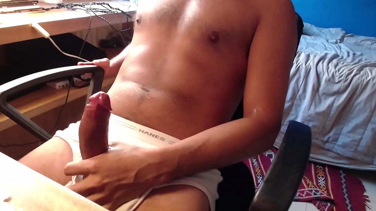 Girl Catches Guy Jerking Off