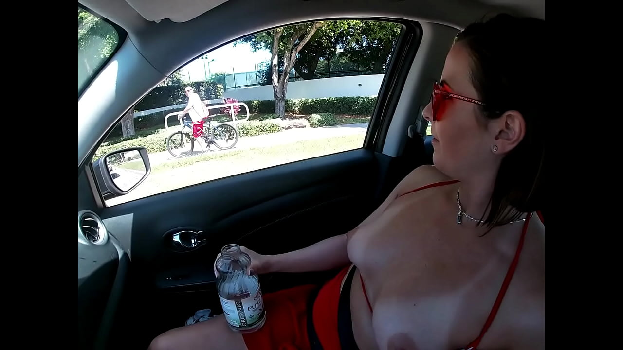 Helena Price - Married Sluts Go For A Drive Public Flashing And Upskirt!