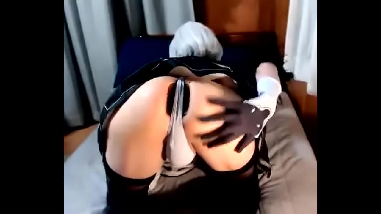 Anal Masturbation Cosplay 2b Kitty Neko