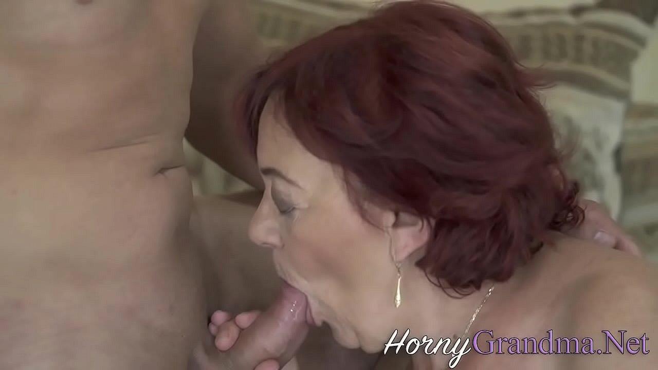 Chubby Redhead Sucks Dick