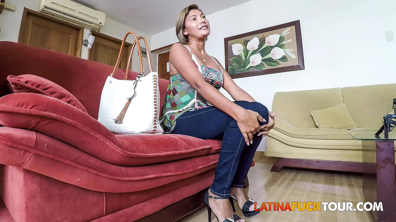 latina first anal casting