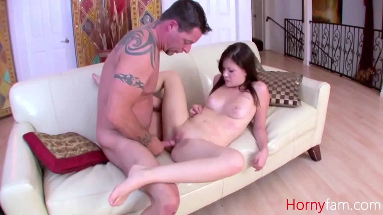 Dad Fucks Daughter Couch Mom