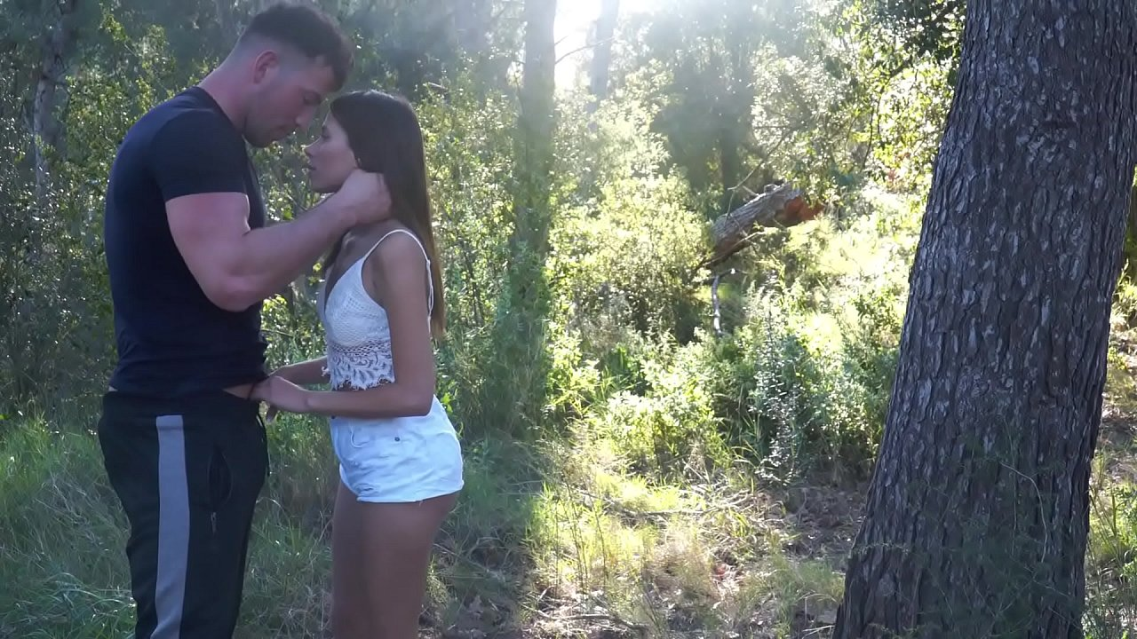 Romantic sex on the forest  thumbnail