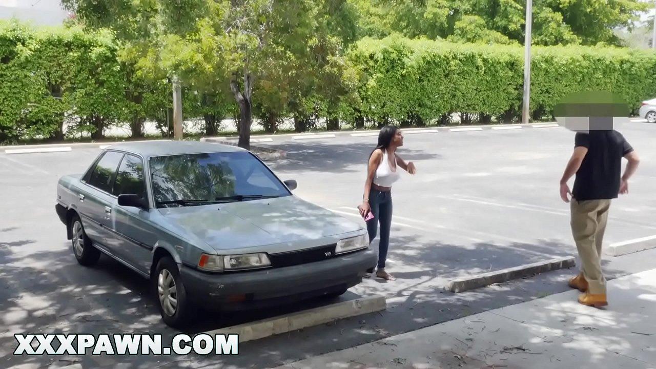 XXX PAWN - Young, Busty Ebony Babe Brittney White Tries To Pawn Her Hooptie