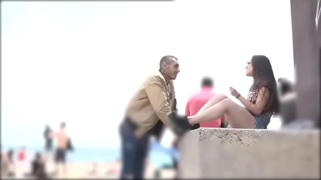 Teen Gets Fucked The Beach