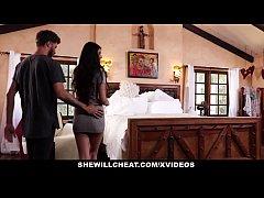SheWillCheat - Unhappy Wife Fucks Her Boytoy In...
