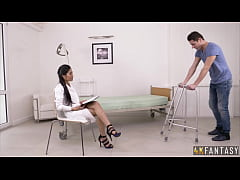 Thai Beauty Poopea Pons Rides Her Patient.