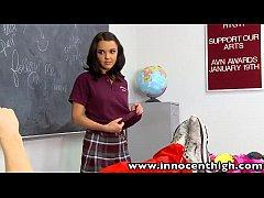 InnocentHigh Firmtits schoolgirl Dillion Harper...