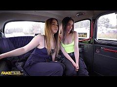 Fake Taxi Cheeky Spanish Lesbians Anastasia & G...