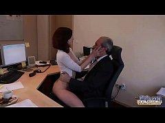 I am a young secretary seducing my boss at the ...