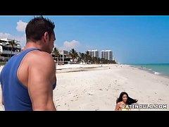 I picked up a hot latina on the beach! - Shay E...