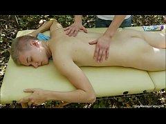Hot Twink Massage Jerks Off