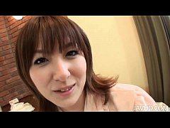 Hiromi has a nice set of tits that she enjoys h...