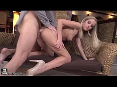 Small titted blonde babe Sicilia