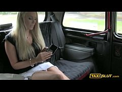 Busty amateur blonde babe Taylor banged for a f...