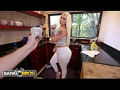 BANGBROS - Big Ass Maid Alexis Andrews Cleans H...