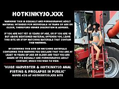 Huge harvester & Hotkinkjo results with anal fi...