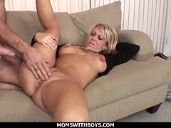 MomsWithBoys - Hot Blond Mom Anal Couch Fucked ...