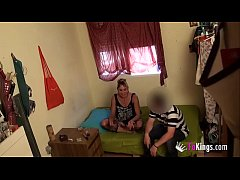 Punk girl brought a douchebag to her place to f...