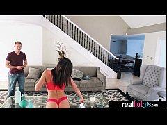 Amazing Sex Scene On Cam With Naughty GF (leah ...