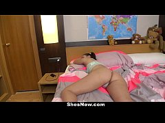 ShesNew - Spanish Teen (Zoe Doll) Gets Pink Pus...