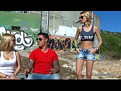 Myfirstpublic Two hot chicks play naughty game ...