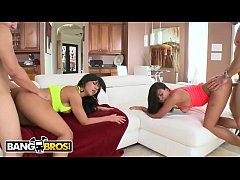 BANGBROS - Curvy Latin Pornstars Luna Star & Ro...