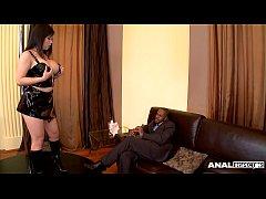 Anal inspectors cram Asian pole dancer Tigerr B...